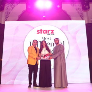 Ms. Jaya Ratnani, Managing Partner- Freed Financial Services was honored at the power-packed evening, hosted by Starz Media and Filmfare middle east celebrating the grit and determination of the women of today.